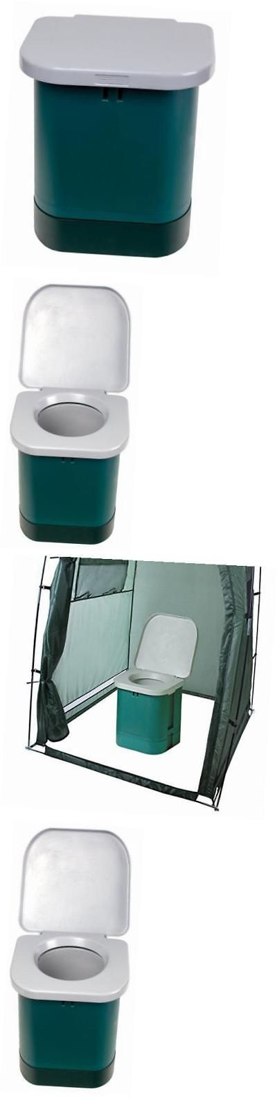 Portable Toilets and Accessories 181397: 273-100 Portable Camp Toilet (14 X 14 X 14 - Inch) -> BUY IT NOW ONLY: $68.33 on eBay!