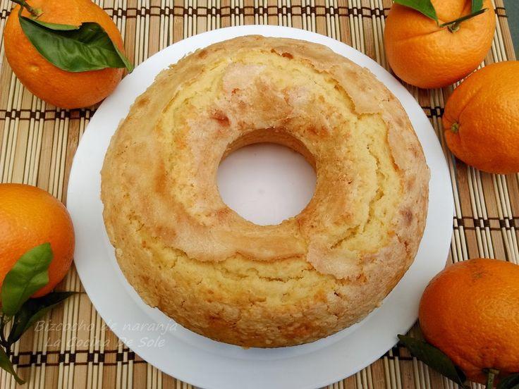 Bizcocho de naranja   Comparterecetas.com