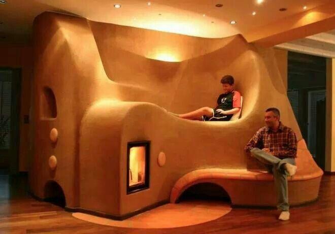 Cobhouse livingroom: cozy!
