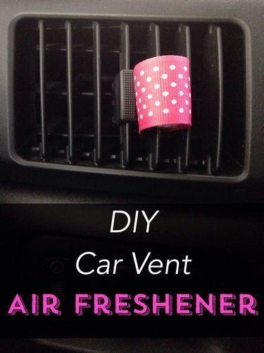 Diy Car Air Freshener And Essential Oils On Pinterest