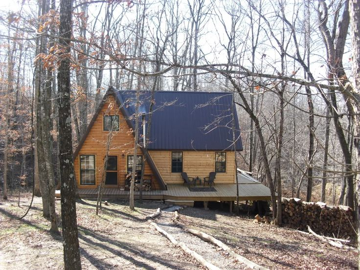 modified a frame cabins | Re: 20x32 A frame cabin Central KY