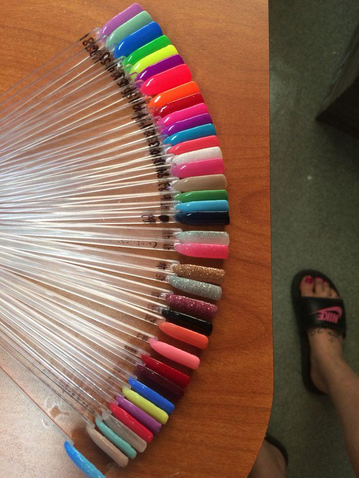 ANC nail colors | Nailed it | Powder nails, Nail colors ...