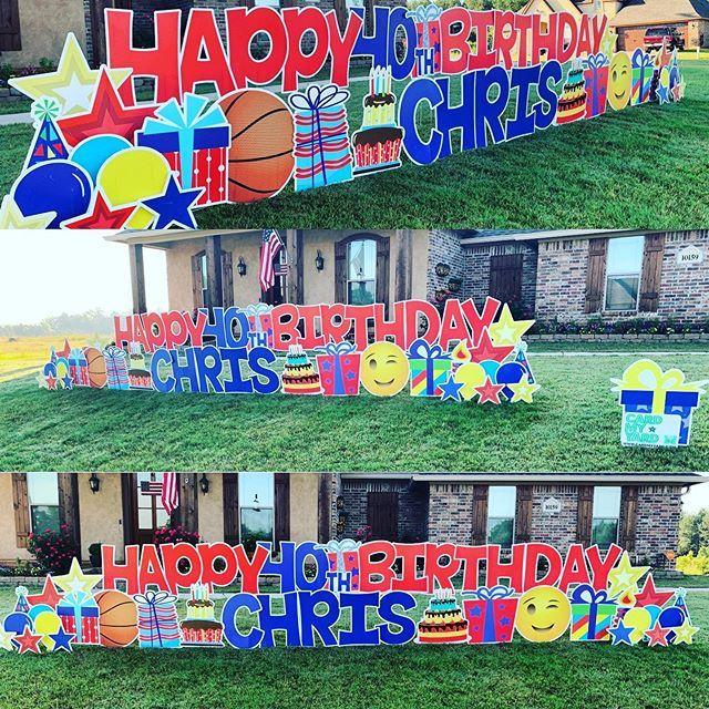 Card My Yard Home Birthday Yard Signs Yard Cards Baby Boy Birthday Themes