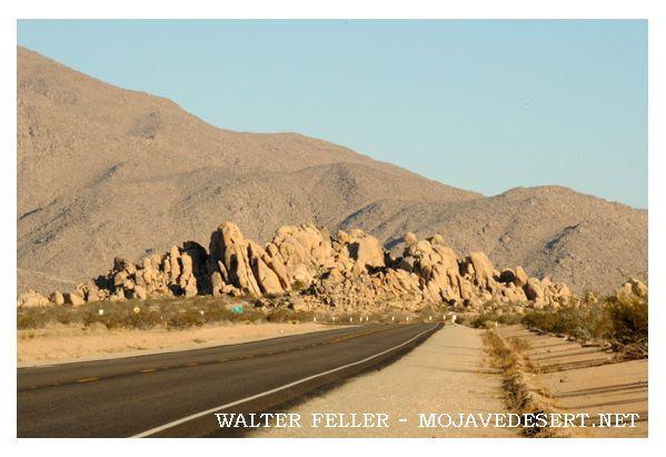 Deadmans Point rock formation, Victor Valley, Apple Valley, Lucerne Valley, California (CA)