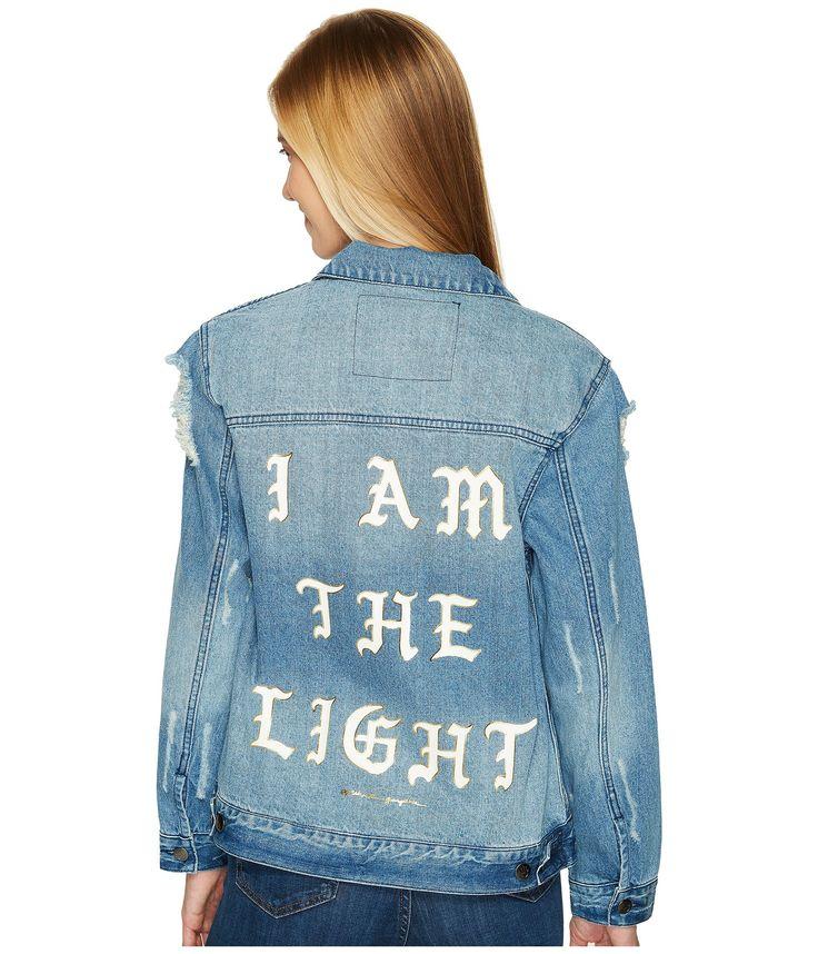 SPIRITUAL GANGSTER I Am The Light Denim Jacket. #spiritualgangster #cloth #
