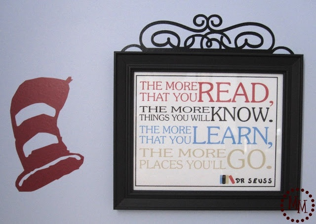 The Scrap Shoppe: Photo Collage & Seuss Quote Printable
