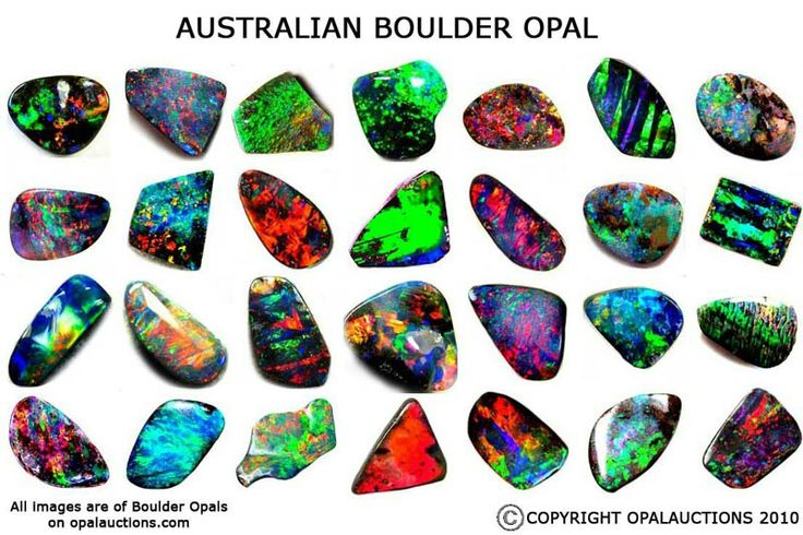 Aussie October Birth stone