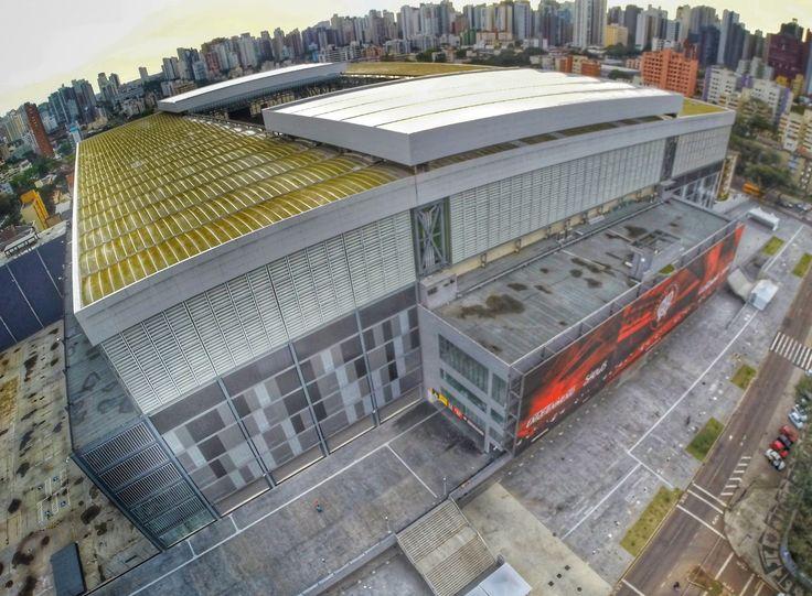 Estádio de Futebol do Clube Atlético Paranaense, Arena da Baixada em Curitiba, PR.#Curitiba #atletico #atleticopr #estadio #futebol