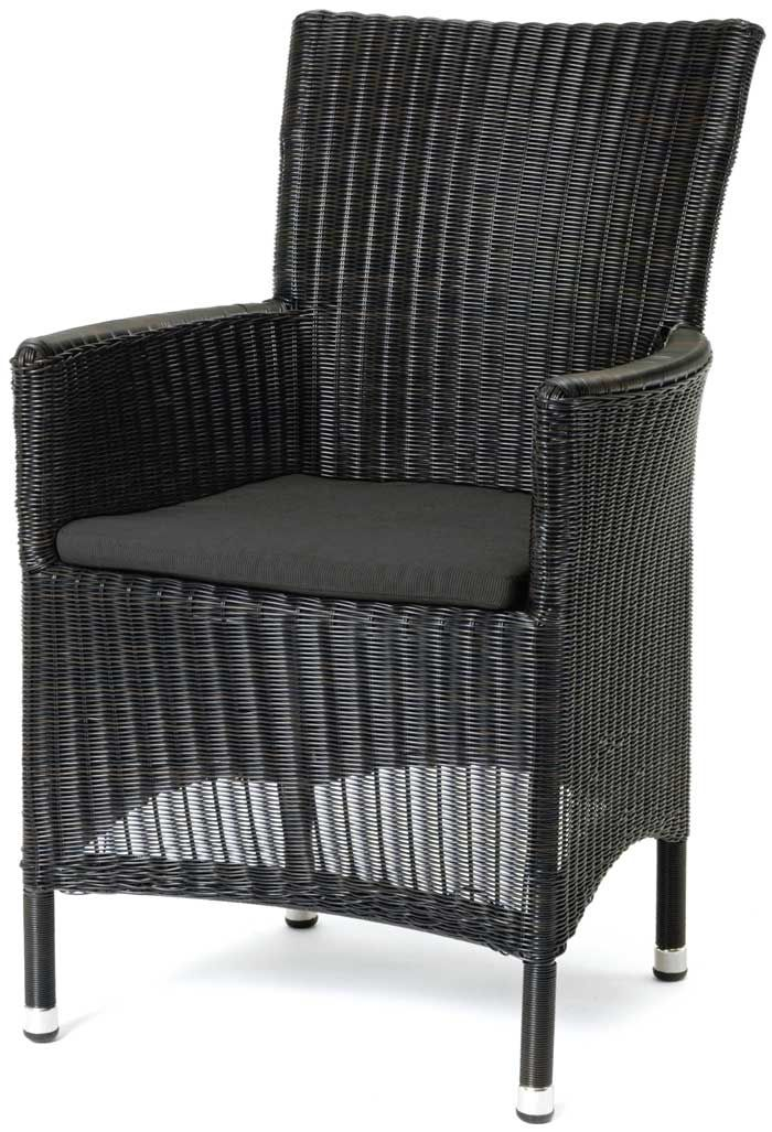SHOP-PARADISE.COM:  Polyrattan Sessel Astena schwarz 169,99 €