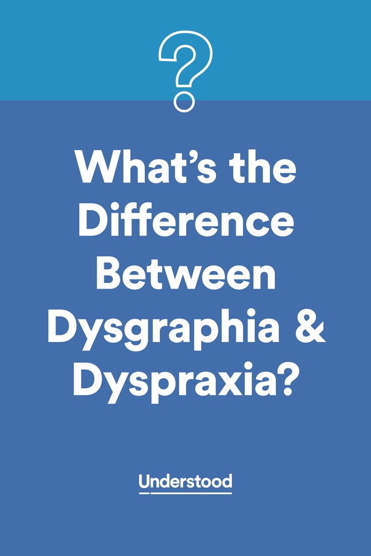 The Difference Between Dyspraxia And Dysgraphia The O