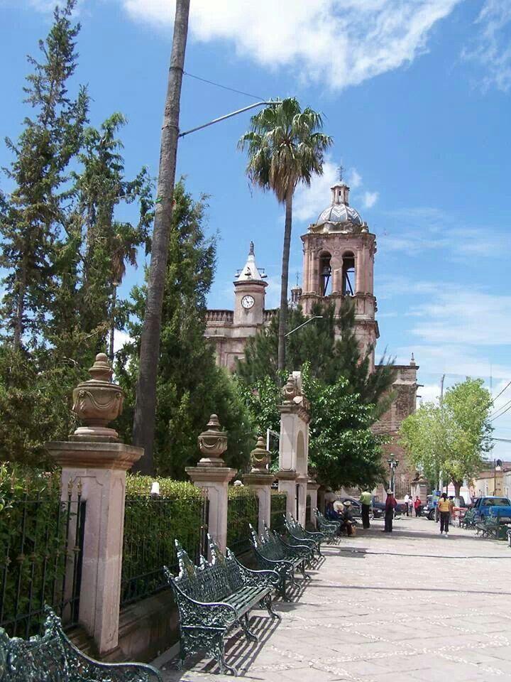 Jardin principal de villanueva zacatecas zacatecas for Jardin principal