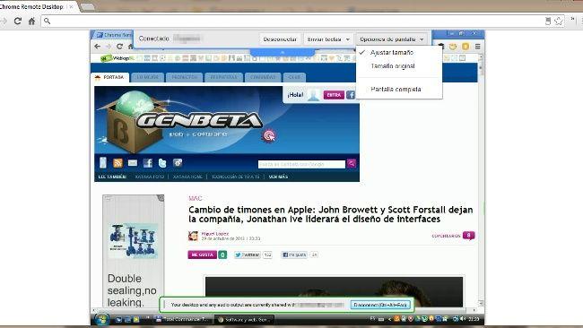Chrome Remote Desktop sale de beta e incorpora audio en tiempo real para Windows http://www.genbeta.com/p/72473