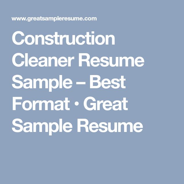 253 best Job Search images on Pinterest Resume templates - experienced labourer trade assistant resume sample