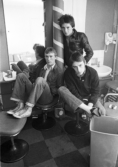 The Jam at the Barber Shop-1977