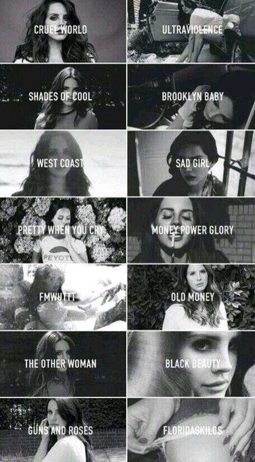 Lana Del Rey #LDR [songs from Ultraviolence]