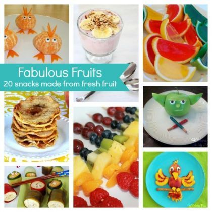 20 Kid-Friendly Snacks Made From Fruit