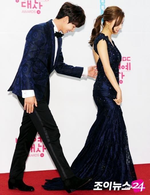 Song Jae Rim and Kim So Eun on WGM