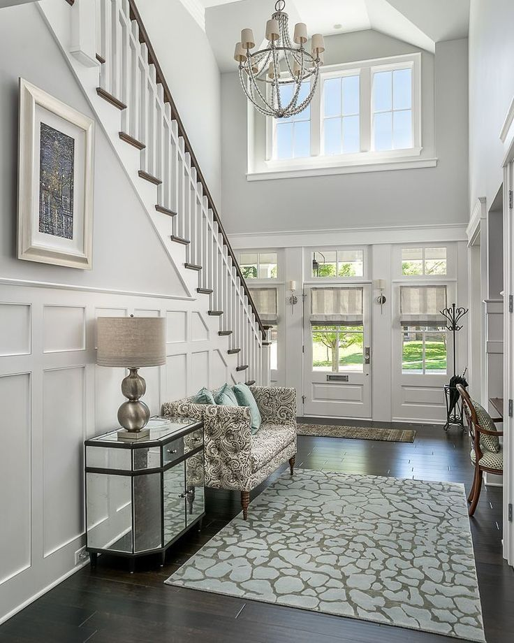 """House Without Foyer : Home bunch homebunch on instagram """"this foyer exudes"""