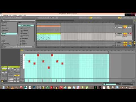 How to create a melody using the musical scale in Ableton