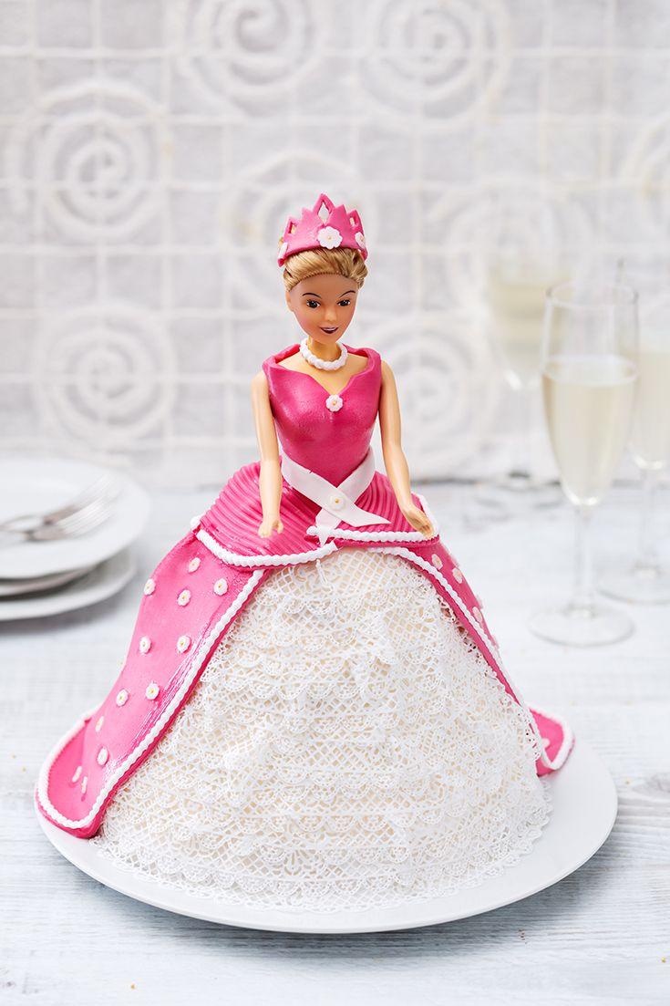 Torta Barbie: compleanno o festa tra principesse in vista? Ecco la torta perfetta!  [Barbie doll cake]