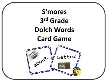 If you're sick of going through boring flashcards, this is a great resource that is quick to play and easy to learn. Students can practice Dolch sight words within the context of a card game. Because each card is labeled with the grade level, it is easy to switch cards from different levels in and out.