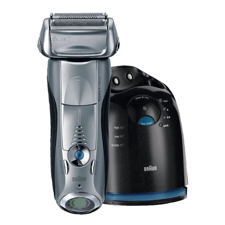 Personal Edge : Braun 7-790CC-4 Rechargeable Series 7 Shaver - Silver