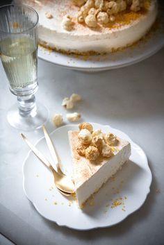 Champagner Cheesecake ohne Backen.