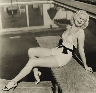jean harlow-1930's bathing suit | Flickr - Photo Sharing!