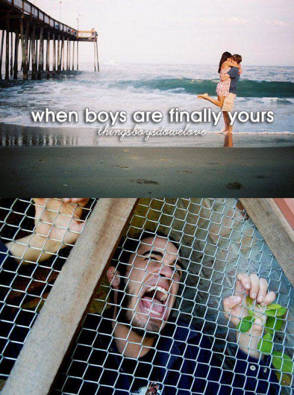 You've caught him! Haha!