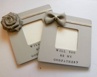 Will you be my Godmother gift picture frame