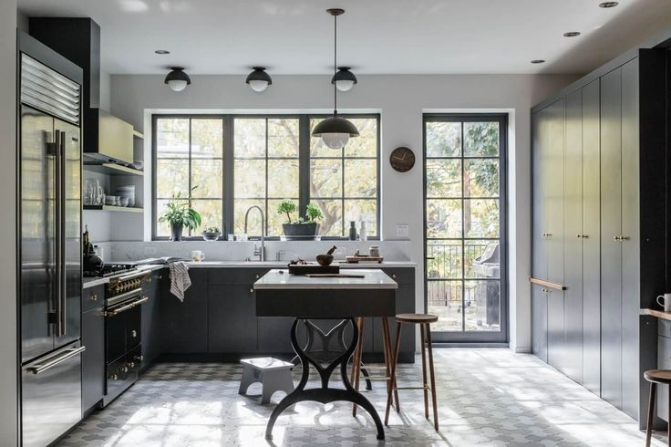 Lacanche Range | Interior Design Ideas Brooklyn Townhouse Renovation by Peter and Loveen Cavanagh…