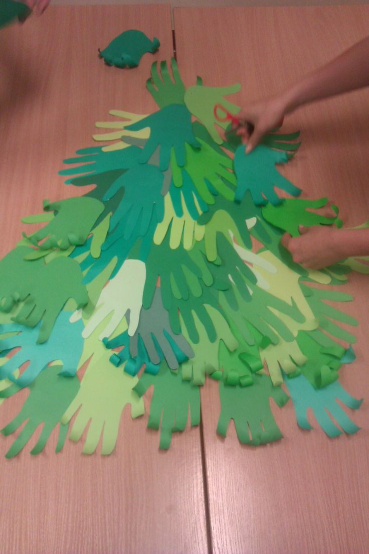 Christmas Tree Made By Paper