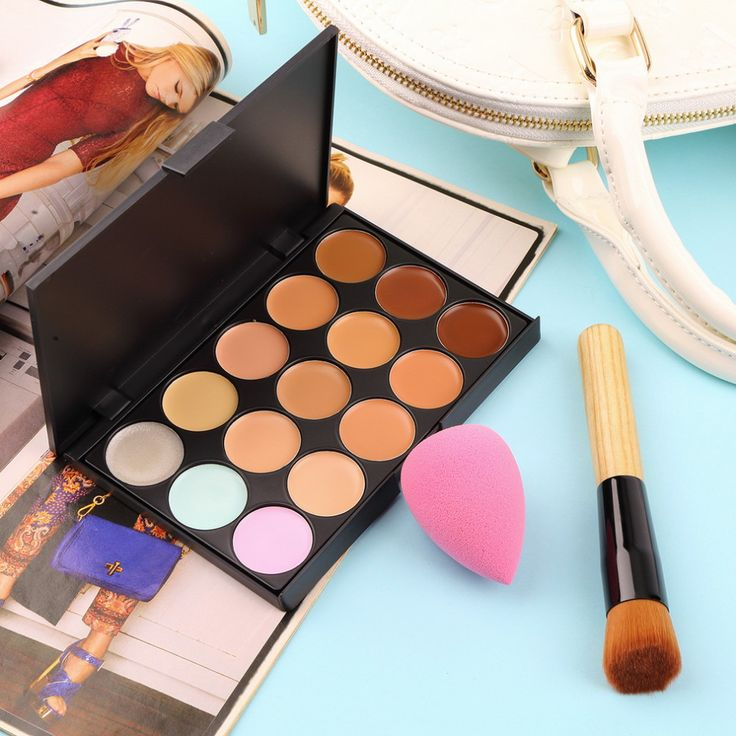 15 Colors Contour Face Cream Makeup Concealer Palette+Sponge Puff+Powder Brush Hot Selling 2015 Features: 1. The 15 Colors Concealer & Multi-Function Oblique Head Powder Brush is cost-effective and practical, which is an optimal choice. 2. Made of high quality ingredients, this blemish cover can decorate the spot and blackhead immediately. What's more, it can decrease ...