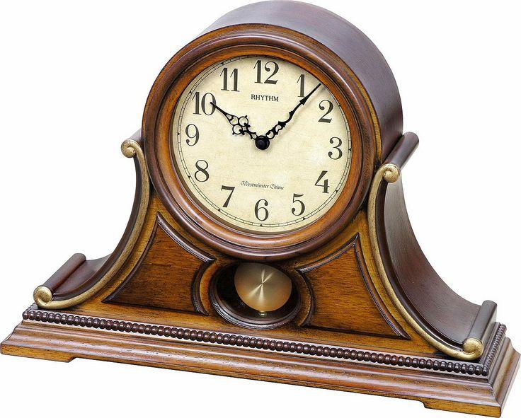Rhythm Clocks WSM Tuscany II Musical Clock CRJ733UR06 | LampsUSA