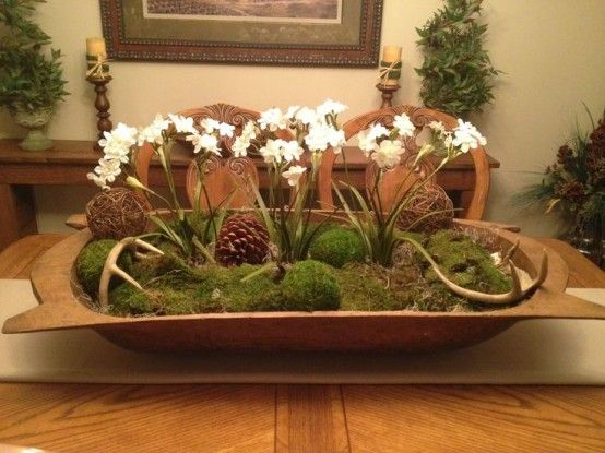 Decorating With Bowls Interesting 25 Best Dough Bowls Images On Pinterest  Christmas Decor Rustic Inspiration Design