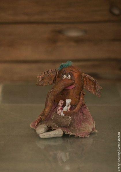 Слоня- Яся - бордовый,подарок,подарок на любой случай,детская комната