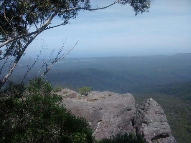 Top of pigeon house mountain