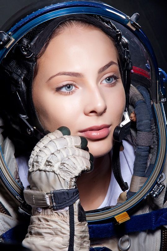 russian female astronaut in space - photo #24