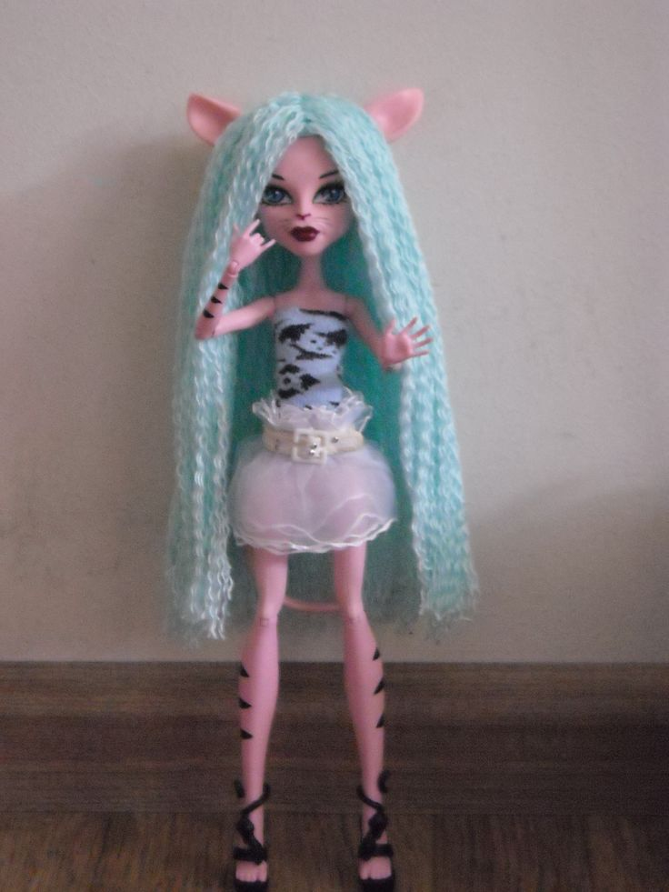 another self made monster high wig