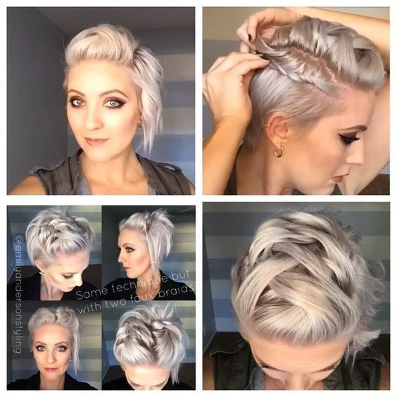 "721 Likes, 31 Comments - Arizona Hairstylist (@emilyandersonstyling) on Instagram: ""Another peek at today's #shorthairtutorialmonday. Full video is in the profile link. #easypeasy…"""