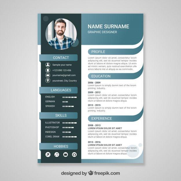 Modern Professional Resume Template Cv Template Cover Letter For Word Pag Modele De Cv Moderne Modele Cv Cv Moderne