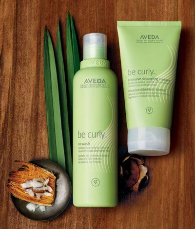 BEFORE/AFTER PHOTOS:  Aveda Be Curly Co Wash, Intensive Detangling Masque - SEE REVIEW