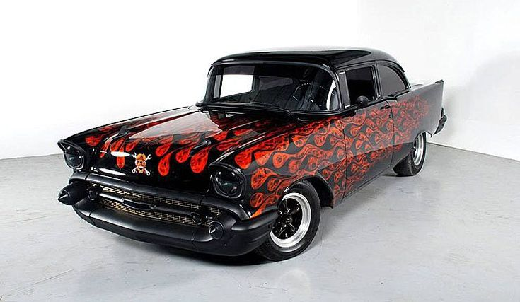 Sinister 1957 Chevy Bel Air – Flame It Like You Mean It
