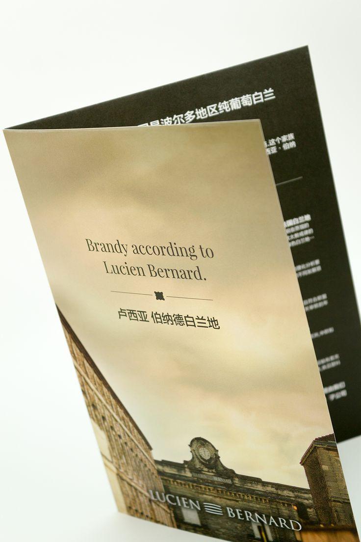 Plaquette 1 pli simple au format 14,85x21cm imprimé en quadri sur papier Slendorgel Extra White 270gr #carterie