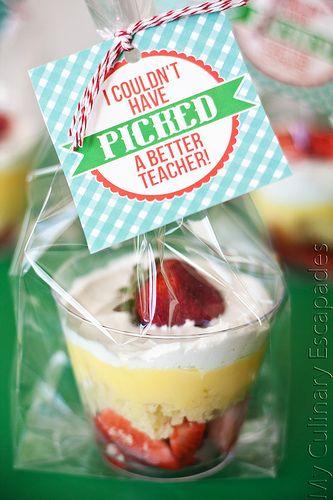 Individual Trifles for Teacher Appreciation
