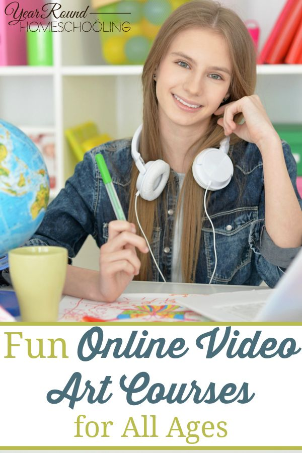 Fun Online Video Art Courses For All Ages - By Misty Leask