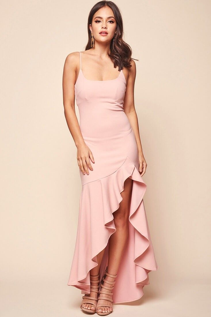 Pink dress emoji  Emoji Asymmetrical Hemline Dress Blush  Pretty stuff I wish was in