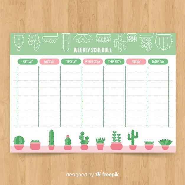 Baixe Modelo Moderno Planejador Semanal Com Design Plano Gratuitamente In 2020 Planner Template Weekly Planner Template Print Planner
