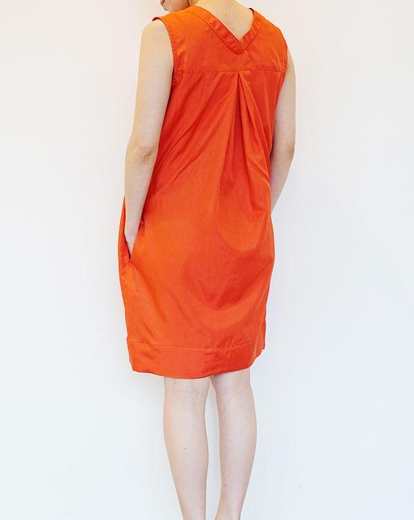 ITEM 2016SS AROMAS Silk Cotton Dress Summer resort Dress