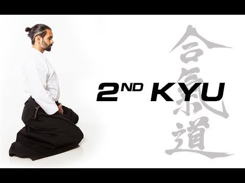 Aikido Techniques for 2nd Kyu Exam Test Requirements - YouTube